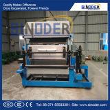 Plateau automatique d'oeufs formant le plateau d'oeufs de papier de machine faisant le prix de machine en vente