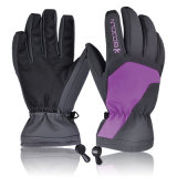 Os esportes ao ar livre reforçados manufatura do dedo aquecem o mantimento de luvas do esqui