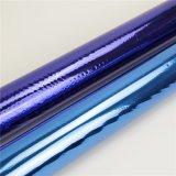 多機能の透過熱い押すホイルのペーパーまたはホログラフィックかプラスチック青いホイル