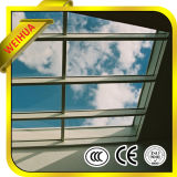 Vidrio aislado Inferior-e claro Tempered de la pared de cortina para los edificios