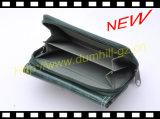 RFID преграждая бумажник повелительницы PU тонкий Trifold