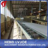Tecnología y dispositivos de producción del cartón yeso con la instalación