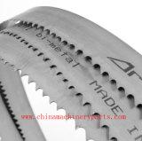 切断の別の材料のためのバイメタルの帯鋸の刃