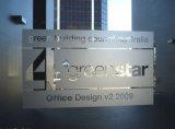 Grafici statici all'ingrosso della pellicola della finestra di segretezza della sala riunioni dell'ufficio