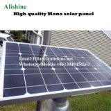 jardín al aire libre del camino del fabricante 12W que enciende la luz de calle solar de la luna del LED