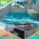 impressora UV Epoxy do PVC da máquina de impressão do assoalho 3D