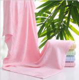 100%年の綿の無地の浴室タオル