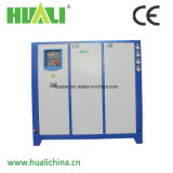 Refrigeratore di acqua raffreddato ad acqua a forma di scatola