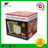 Солнечный фонарик с mp3 плэйер FM Radio с поручать мобильного телефона