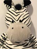 Giocattoli farciti molli della peluche della zebra