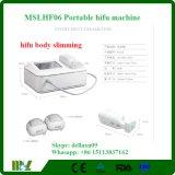 Carrocería portable de Lipo Hifu que adelgaza la reducción Mslhf06A de las celulitis de la máquina