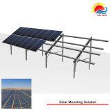 Système au sol solaire anodisé de crémaillère de support de l'aluminium 6005-T5 (SY0031)