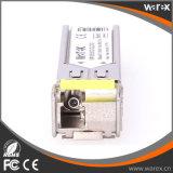 Transmisor-receptor óptico compatible de Cisco 100Base-BX 1550nm Tx/1310nm Rx los 20km SFP BIDI con alta calidad