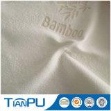 Tela hecha punto poliester de bambú del colchón de Hangzhou