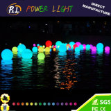 Remoto Control de balón al aire libre RGB LED del cambio del color
