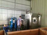 Jeans blanchis par générateur industriel de l'ozone de fabrication d'usine