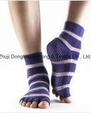 つま先の半分のフィートの方法Yoga Socks新しいデザイン女性を開きなさい