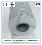 突き出されたタイプひれ付き管のアルミニウムひれが付いているステンレス鋼の管