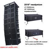 Konzert-Lautsprecher 10 Zoll-aktive Zeile Reihen-Audios-Mischer