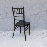 Yc-A172-4 Tube en métal de bonne qualité Black Wedding Tiffany Chairs