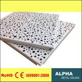 Clip en aluminium en métal dans la tuile irrégulière suspendue de plafond de Preforated