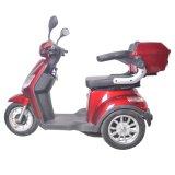 新しいデザイン500W 3車輪によって禁止状態にされるスクーターTrikeの快適なシート(TC-020)が付いている電気大人の三輪車