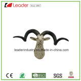 Trofeo capo animale della parete della scultura montato cranio delle pecore di Polystone per la decorazione domestica