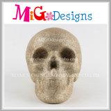 Baterías de cerámica del dinero del cráneo multicolor con el satinado