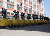 De hydraulische Enige Diesel Mobile Light Toren van Axel Versatility