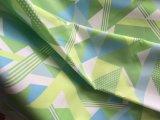 Tissu géométrique de polyester d'impression pour les jupes protégeant du vent