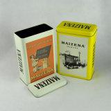 Fantastischer Zoll gedruckter preiswerter runder Tee-Zinn-Großverkauf