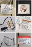 De Buena Calidad Personalizado a todo color impreso adhesivo auto adhesivo de PVC etiqueta de rollo de vinilo adhesivo adhesivo de papel