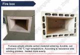 Horno de mufla resistente de alta temperatura de la fibra de cerámica