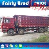 팁 주는 사람 트럭의 공정하게 사용된 8X4 Shacman F3000 덤프 트럭