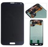 Экран касания LCD замены домашнего мобильного телефона агрегата рамки кнопки первоначально для Samsung S5 (XSLS-004)