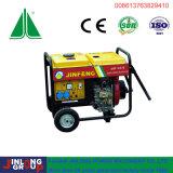 6kVA le type portatif air a refroidi l'utilisation diesel de maison de générateur