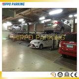 Pfosten-Auto-Parken-Heber der niedrigen Decken-zwei