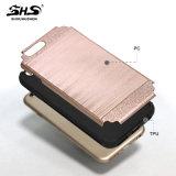 Het Shs Geborstelde Geval van de Telefoon van de Streep Hybride voor de Melkweg van Samsung A710