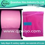 Película individual Required do envoltório da máquina de alta velocidade do guardanapo sanitário para o guardanapo sanitário