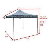 おおいの避難所の折るテントを広告する3X3mの鉄骨フレーム
