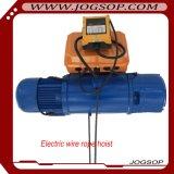 Chariot de déplacement CD à DM élévateurs électriques de câble métallique de 10 tonnes