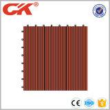 500*500*22mm bereiteten mit hoher Schreibdichtehdpe im Freien WPC Decking-Fußboden auf