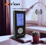 Radio Controlled часы таблицы станции погоды с температурой