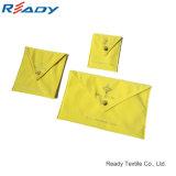 Sac de velours jaune à nouveau design pour bijoux