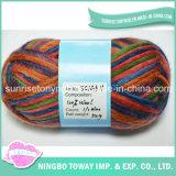 Tapete barato Super Chunky Atacado Confecção de malhas da bola do fio têxtil