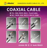 коаксиальный кабель 1000FT навальный Rg59 RG6/U Rg11 для спутника CATV