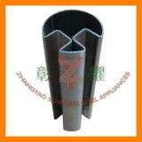 304, tubo ranurado redondo del acero inoxidable 316 con 90 grados