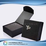 Cadre de empaquetage de carton de montre de bijou d'étalage en bois de luxe de cadeau (xc-hbj-037)