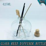 Raum-leeres Korken-Stopper-Aroma-Öl-Glasreeddiffuser- (zerstäuber)flasche des Bereich-425ml