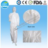 Combinaison protectrice remplaçable non-tissée de tissu